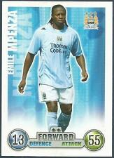 TOPPS MATCH ATTAX 2007-08 TRADING CARD-MANCHESTER CITY-EMILE MPENZA