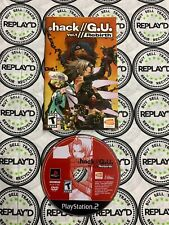 Dot Hack G.U. Vol. 1 Rebirth (DISC ONLY) (PS2) Tested!