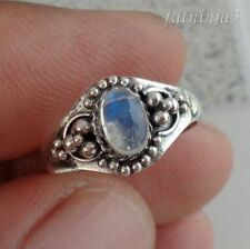 Moonstone Sterling Silver Handcrafted Rings
