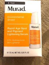 Murad Rapid Age Spot and Pigment Lightening Serum 0.25oz New in Box EXP 01/2020