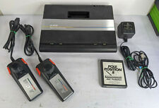 Atari 7800 Pro System Video Game Console w/ Controllers Cables Pole Position II