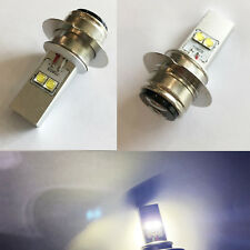 2x P36D 40W CREE LED White Headlight High/Low Beam Light Bulb 6V-24V Motorcycle