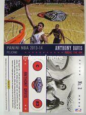 Panini nba (Adrenalyn XL) 2013/2014 - #002 Anthony Davis-Above the Rim