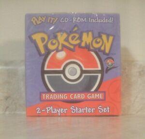 Factory Sealed WOTC Pokemon Base Set 2 Two Player Starter Set Deck w/ CD-Rom