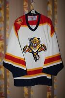 RARE CCM FLORIDA PANTHERS ICE HOCKEY NHL JERSEY SHIRT MASKA SIZE M