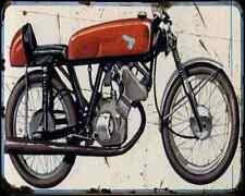 Honda 50 Rc 110 1962 A4 Metal Sign Motorbike Vintage Aged