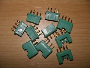 MPX Stecker + Buchse 10 Stück ( 5 Paar) Multiplex Style 6 Pin 35A