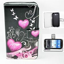 Stand PU Leather Flip Card Holder Wallet Cover Case for Samsung Galaxy S3 i9300