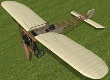 Bleriot XI France Experimental Airplane Mahogany Kiln Dry Wood Model Small New