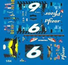 #6 Mark Martin Batman Begins 2006 1/64th Ho Scale Slot Car Waterslide Decals