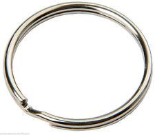 10 x SBS® Schlüsselringe Ø30mm glänzend Stahl,Ring Schlüssel,Schlüsselanhänger
