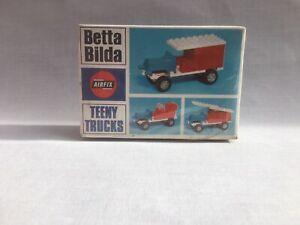 AIRFIX BETTA BILDA Teeny Trucks Catalogue No.4512 Vintage Truck 1969 New Sealed