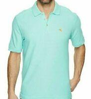 Tommy Bahama Supima Cotton Mint Mojito Green Emfielder Polo Shirt Small NWT NEW