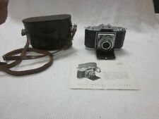 Zeiss Ikon Ikonta PRONTO 35mm CAMERA 1:3,5 F=45mm  Lens, Untested LEATHER CASE