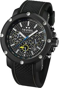 TW Steel VR46 Men's Chronograph Quartz Watch -  TW937 NEW