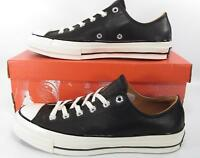 Converse Chuck Taylor All Star 70's Ox Low Classic BLACK LEATHER 151156C