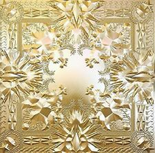 JAY Z KANYE WEST - WATCH THE THRONE EXPLICIT Audio Music CD Brand New UK Rel