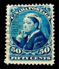 #316 Philatrade Canada Stamp SC #47 Used $85 1888-97