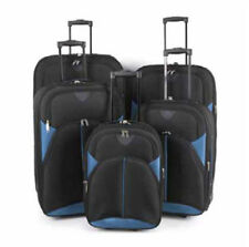 Soft Waterproof 2 Upright Unisex Adult Suitcases