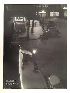 DANIEL FRASNAY,PLACE PIGALLE,PARIS 1958, AUTHENTIC 1990 ART PHOTO PRINT