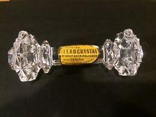 Wow Set Of 4 Genuine Lead Crystal Made In Western Germany