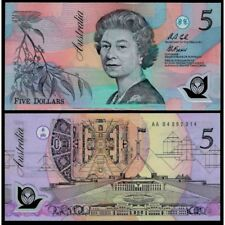 AUSTRALIA  5 Dollars 1992 UNC P 50 a