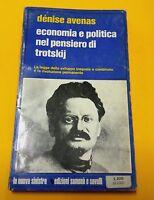 Economia e politica nel pensiero di Trotskij di D. Avenas - Samonà e Savelli