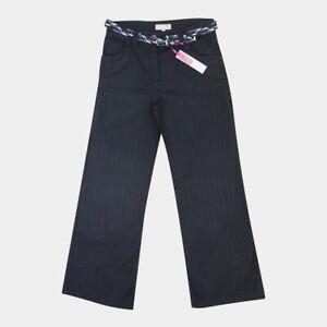 M&S Per Una Ladies Womens Palazzo Wide Leg Flared Trousers Size 8 10 12 14 16