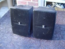 Yamaha NS-AW1 Black 2-Way Outdoor Stereo Speakers