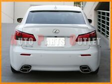 2006-2013 LEXUS IS250 IS350 4Dr Select Color F-Sport Trunk Lip & OE Roof Spoiler