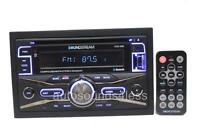 Soundstream Double 2 Din VCD-32B CD/MP3/WMA Player Bluetooth Front AUX USB Input