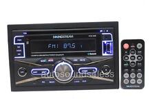 Soundstream Double Din VCD-32B CD/MP3/WMA Player Bluetooth Front AUX USB Input