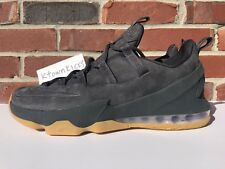 Nike Lebron XIII Low Premium Anthracite Grey AH8289 001 Men's Size 10.5 NoBoxLid