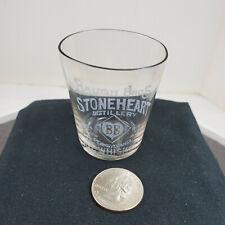 Baugh Bros Stoneheart Distillery Pre-Prohibition Shot Glass Penn. Rye Whiskey
