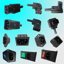 Kaltgerätekupplung Kaltgerätestecker Einbaubuchse Gerätestecker Einbaustecker