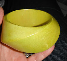 monies designer massive wood bangle bracelet gerda lynggaard dead stock small