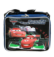 Disney Pixar Cars Lunch Box McQueen Tow Mater Lunch Bag Fight to Finish , NEW