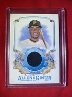 2017 Topps Allen & Ginter Relics Gregory Polanco Jersey Pirates