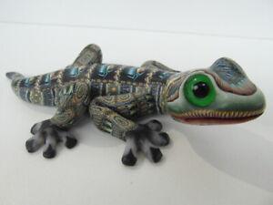 Fimo Clay Millifiori Animal sculpture by Jon Anderson - Medium Gecko
