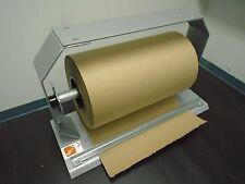 Holder dispenser stretch film kraft wrap paper 12 inch masterpunching