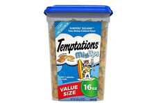 Cat  treats cat food TEMPTATIONS Crunchy and Soft Cat Treats16 oz free shippiN