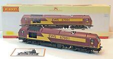 HORNBY 00 GAUGE - R3040 - EWS BO-BO CLASS 67 DIESEL ELECTRIC 67001 - BOXED!