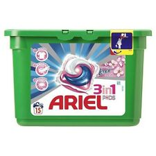 ARIEL Touch of Lenor 3in1 Pods Caps 15 Laundry Washing Machine Capsules