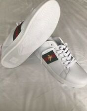Gucci Ace Embroidered Bee Sneakers Trainers UK 9