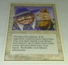 Magic the Gathering 4th Edition Land Tax LP