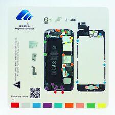 Professional Technician Repair Pad Guide Magnetic Screw Mat For Apple iphone 5