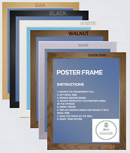 Modern Wood Effect All Sizes A1 A2 A3 A4 A5,Picture,Poster,Photo Frame