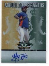 2011 Leaf Valiant Draft #MS3 Miguel de los Santos NM-MT