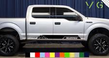 Chevrolet Chevy Silverado Vinyl Decal Sticker Graphics Side Door x2 ANY COLOR 83