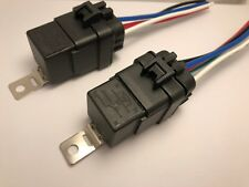 12 VOLT WATERPROOF SPDT RELAYS & SOCKETS KIT 40A 12V FOR AUTOMOTIVE DIY (2 pcs)
